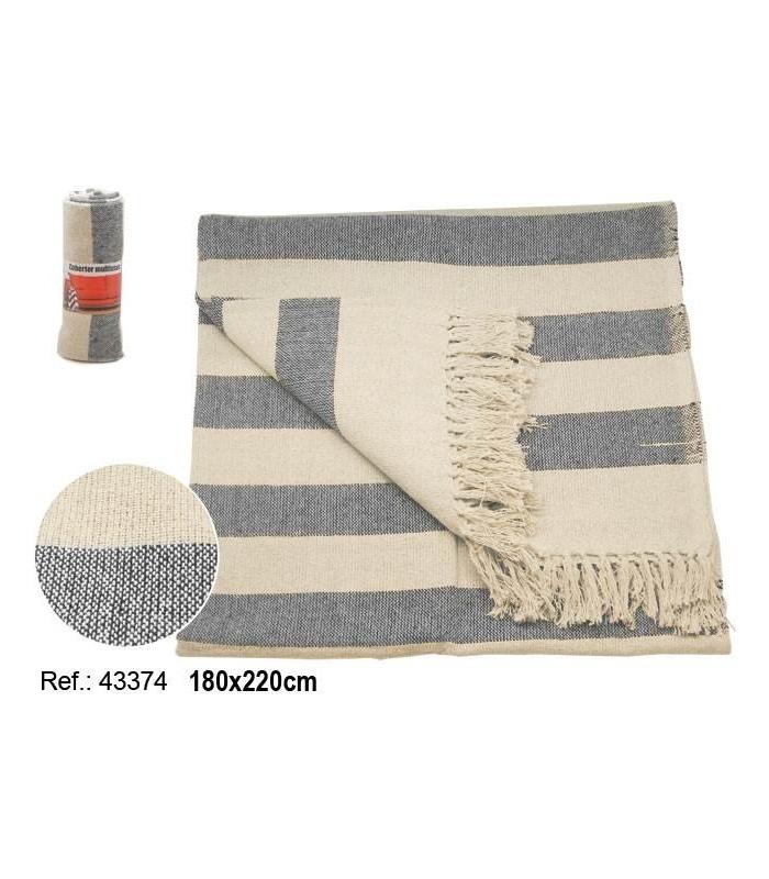 Cobertor De Rayas