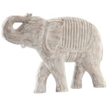 Figura Madera 50X8X32 Elefante Decape
