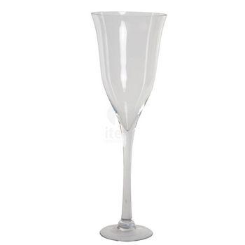 Jarron Cristal 185X55 Copa Transparente