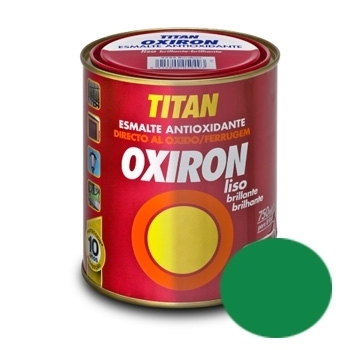 Oxiron Liso Brillante Verde Pradera 750 Ml 4518