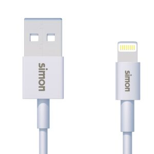 CABLE LIGHTNING - USB BLANCO 1 M