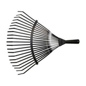Escoba púas planas para limpieza de césped sin mango / 3041