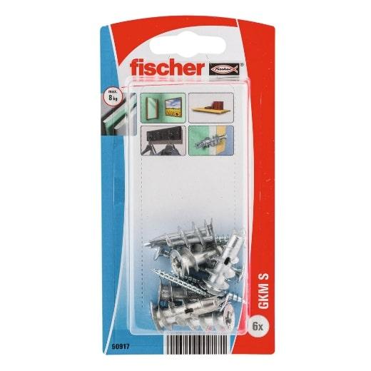 Fijación metálica fischer para cartón-yeso GKM S K