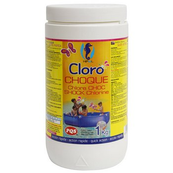 CLORO CHOQUE GRANO HIPOOL BOTE 1 KG 165022