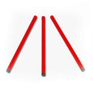 Juego 3 Patas Rojas Para Quemadores Paellero