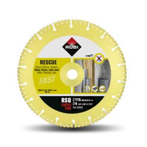DISCO DIAMANTE RESCATE 115 M/M SUPER PRO