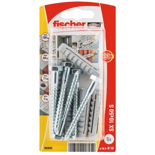 Taco de expansión Fischer SX 10 x 50 S K