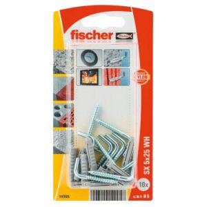 Taco de expansión Fischer SX 5 x 25 H con alcayata K