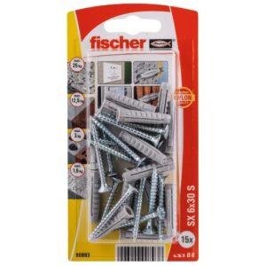 Taco de expansión Fischer SX 6 x 30 S K