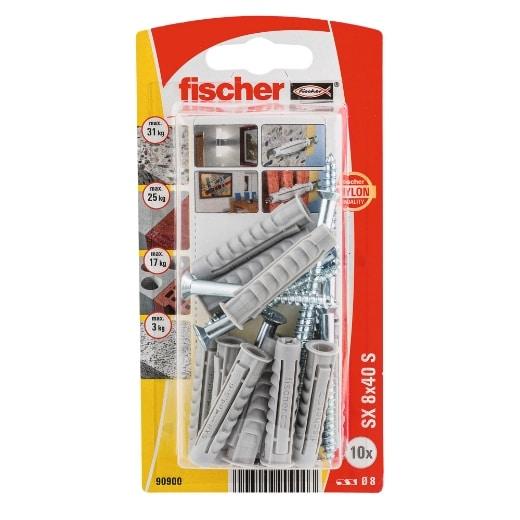Taco de expansión Fischer SX 8 x 40 GKS K