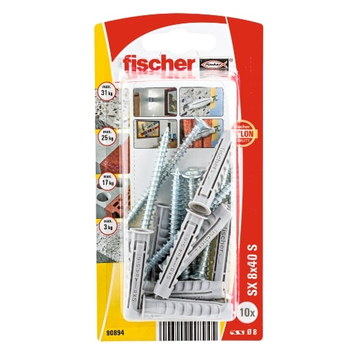 Taco de expansión Fischer SX 8 x 40 SK