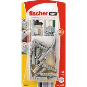 Taco de expansión fischer S 6 GK large card