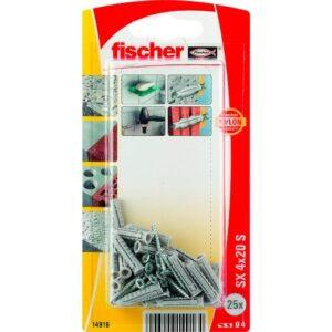 Taco de expansión fischer SX 4 x 20 S