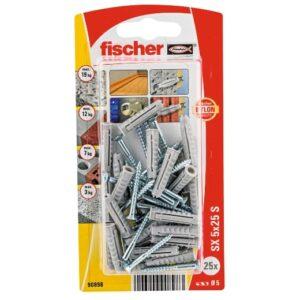 Taco de expansión fischer SX 5 x 25 GKS