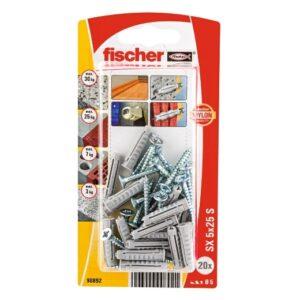 Taco de expansión fischer SX 5 x 25 S