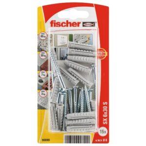 Taco de expansión fischer SX 6 x 30 GKS
