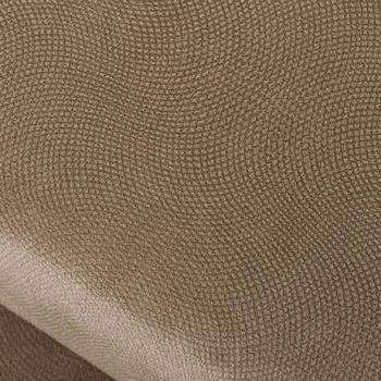 Material Puff Velvet Taupe