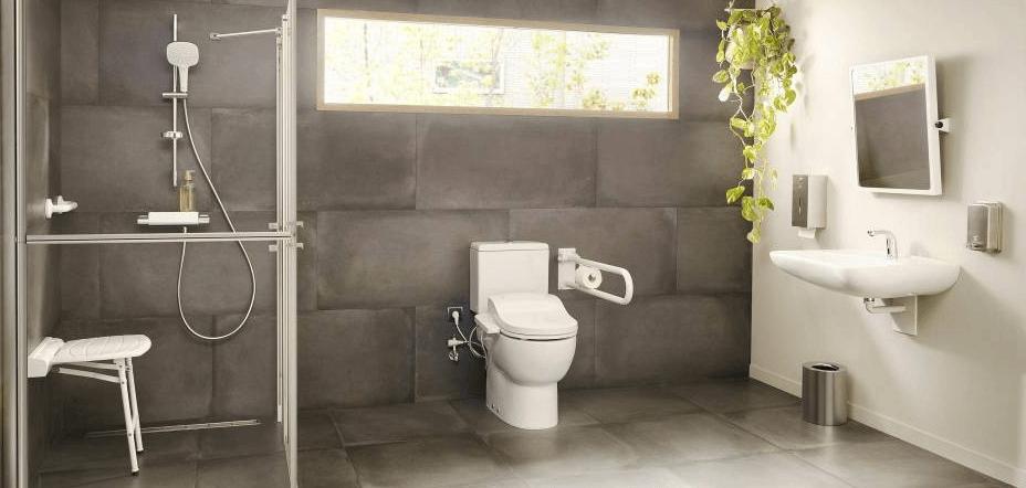 accesorios de baño adaptado