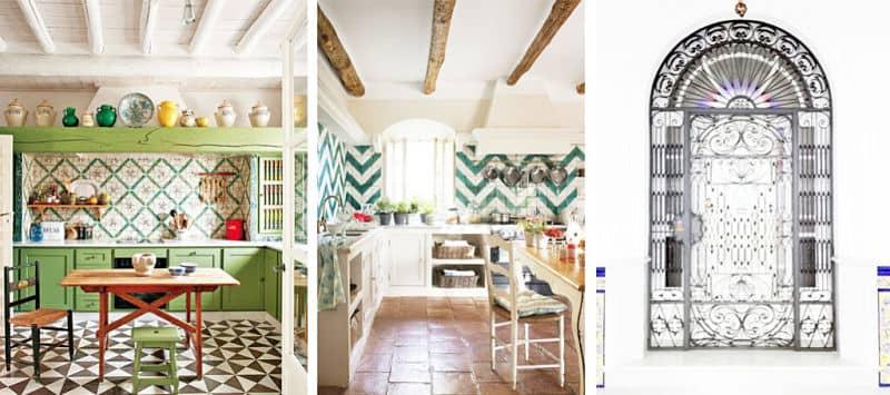 Azulejo andaluz cocina