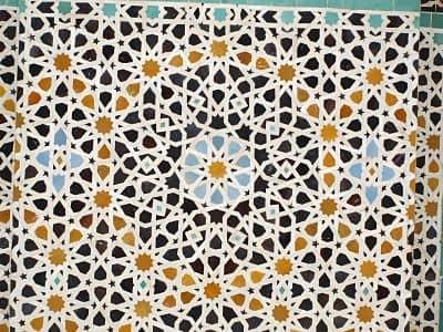 Azulejo mosaico diseño