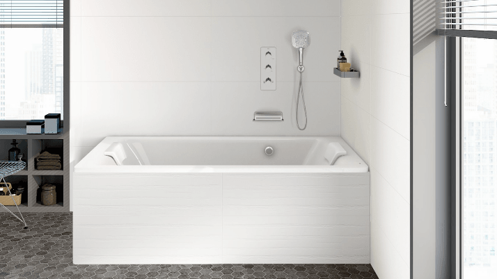 bañera alicatada