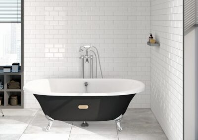 bañera pie