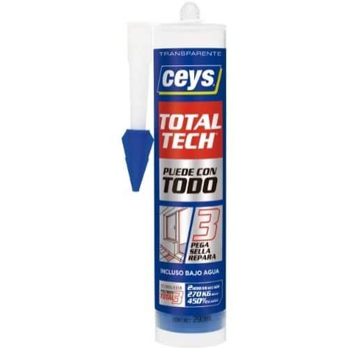 CEYS TOTAL TECH  CLEAR TRANSPARENTE