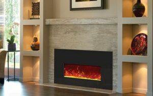 Ventilación y calefacción con chimenea eléctrica