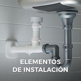 elementos de instalación