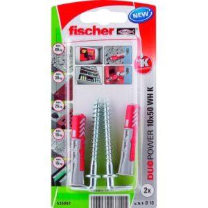 fischer DuoPower 10 x 50 WH con alcayata