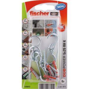 fischer DuoPower 5 x 25 RH con hembrilla abierta