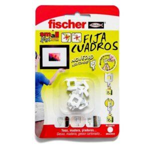 fischer Fijacuadros Blanco 8 uds blister