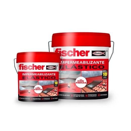 fischer Impermeabilizante elástico 4L gris