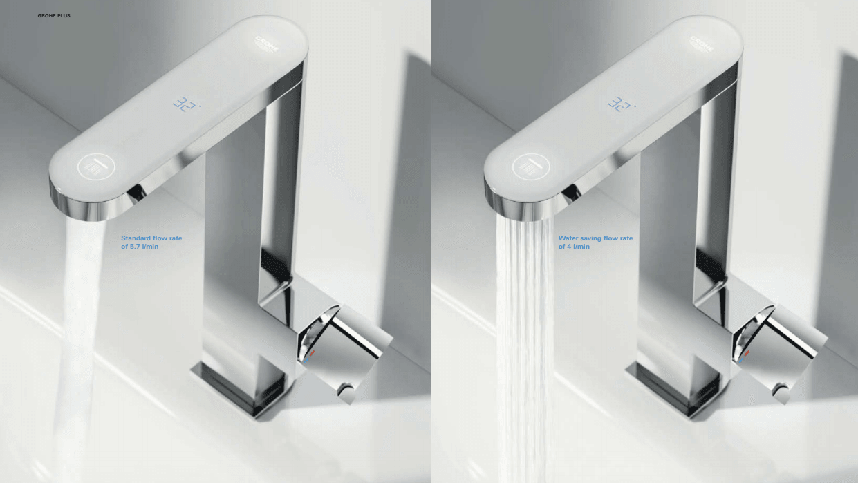 grifería eco spray function grohe