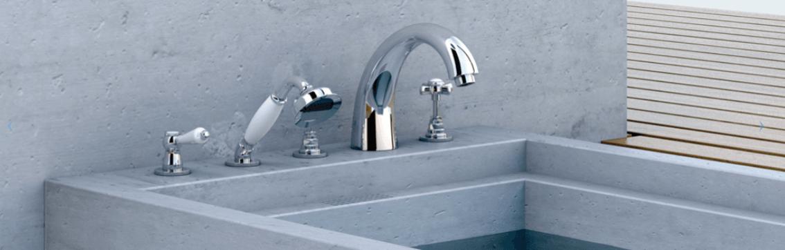 grifo bruma bañera