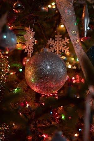 Decoración navideña con Luces LED