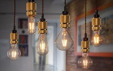Iluminación cálida para nuestro hogar en invierno con bombillas LED