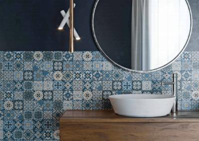 revestimientos de mosaico